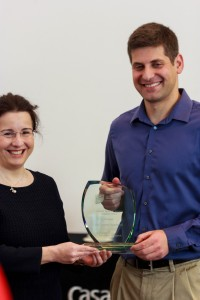 Eugene Receiving KSJ Award