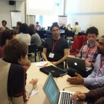 Lively discussions at the Bibliometrics workshop