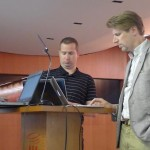 Three speakers, one session: getting ready for ECIR 2012 Industry Day