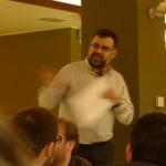 Always busy: conference chair Ricardo Baeza-Yates