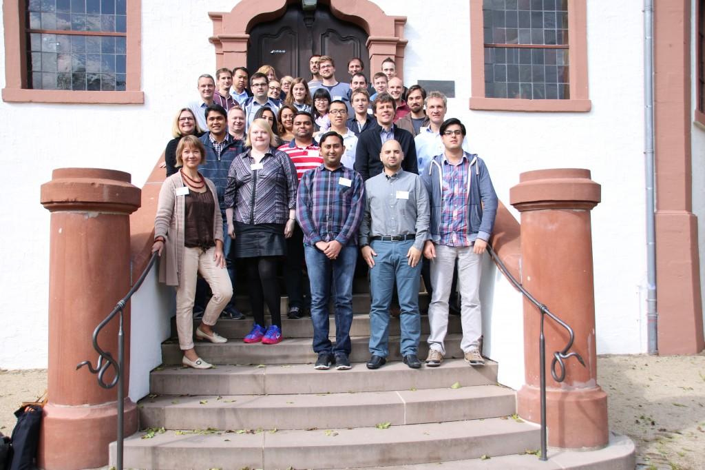 The notorious Dagstuhl group photo.