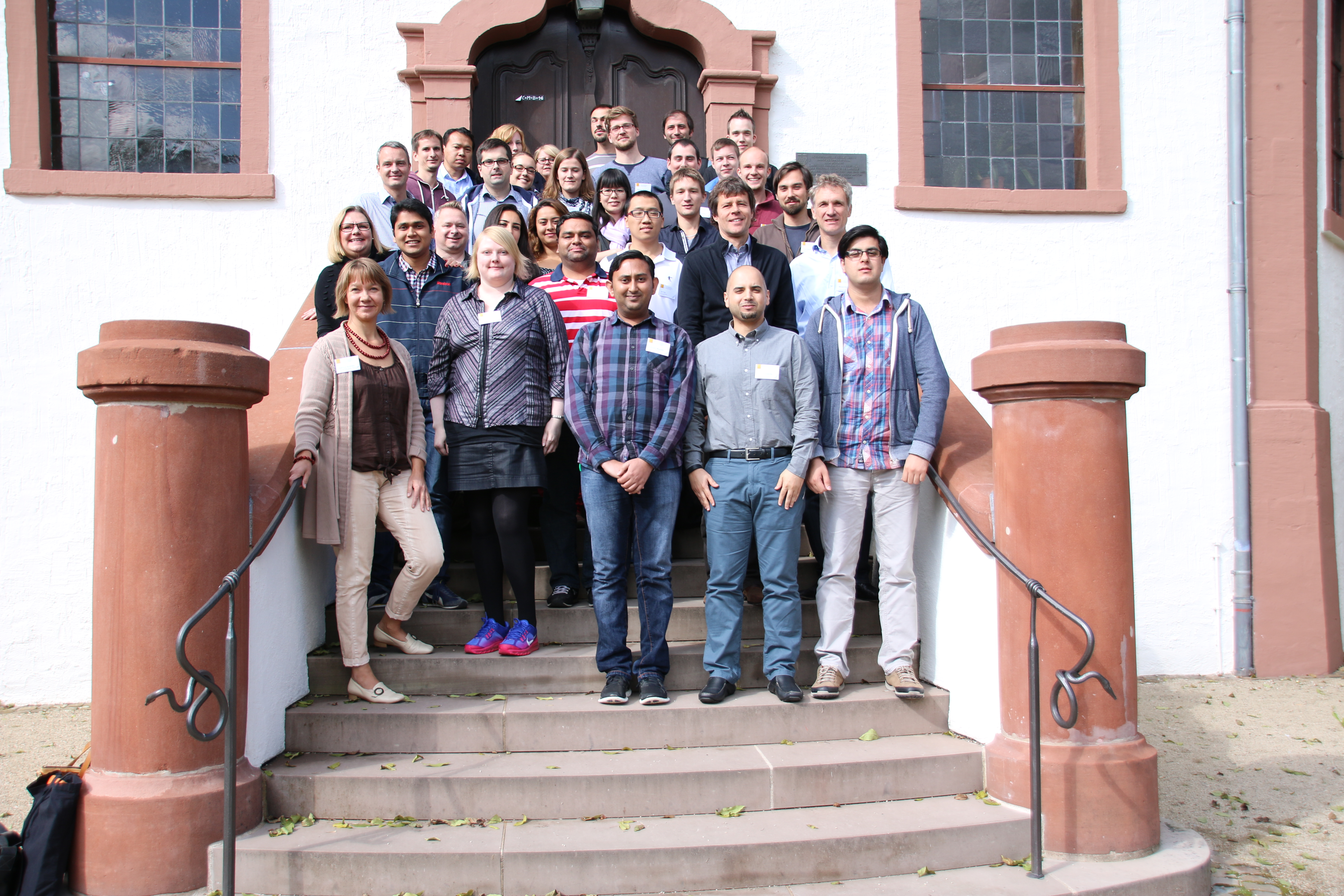 The notorious Dagstuhl group photo.