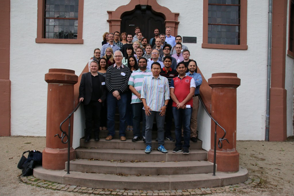 And another group photo with different lecturers.