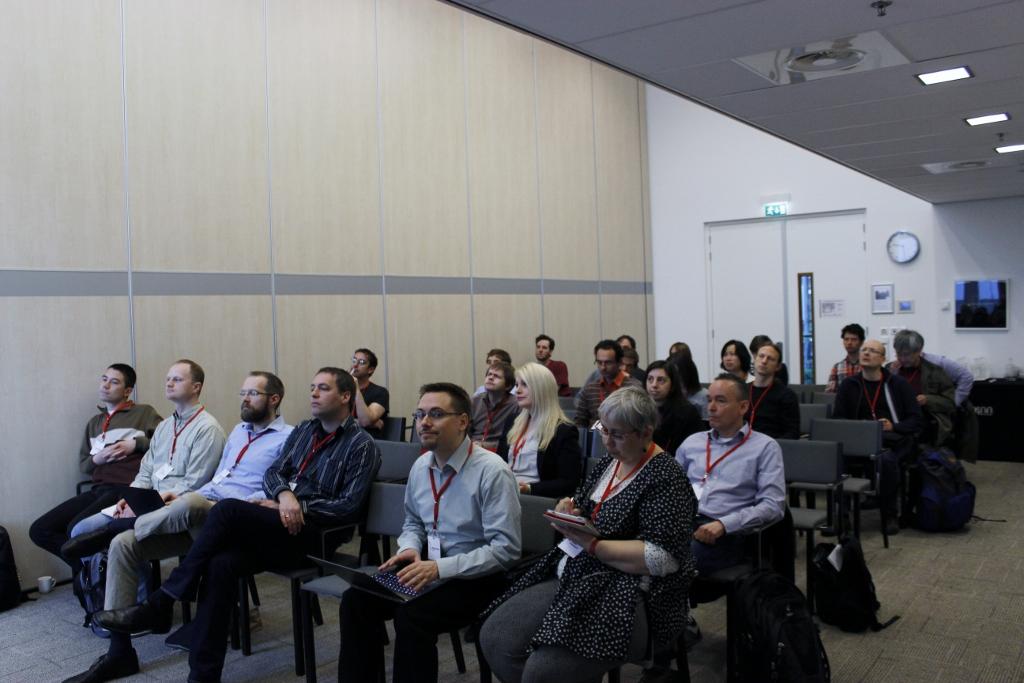Auditorium at the BIR workshop
